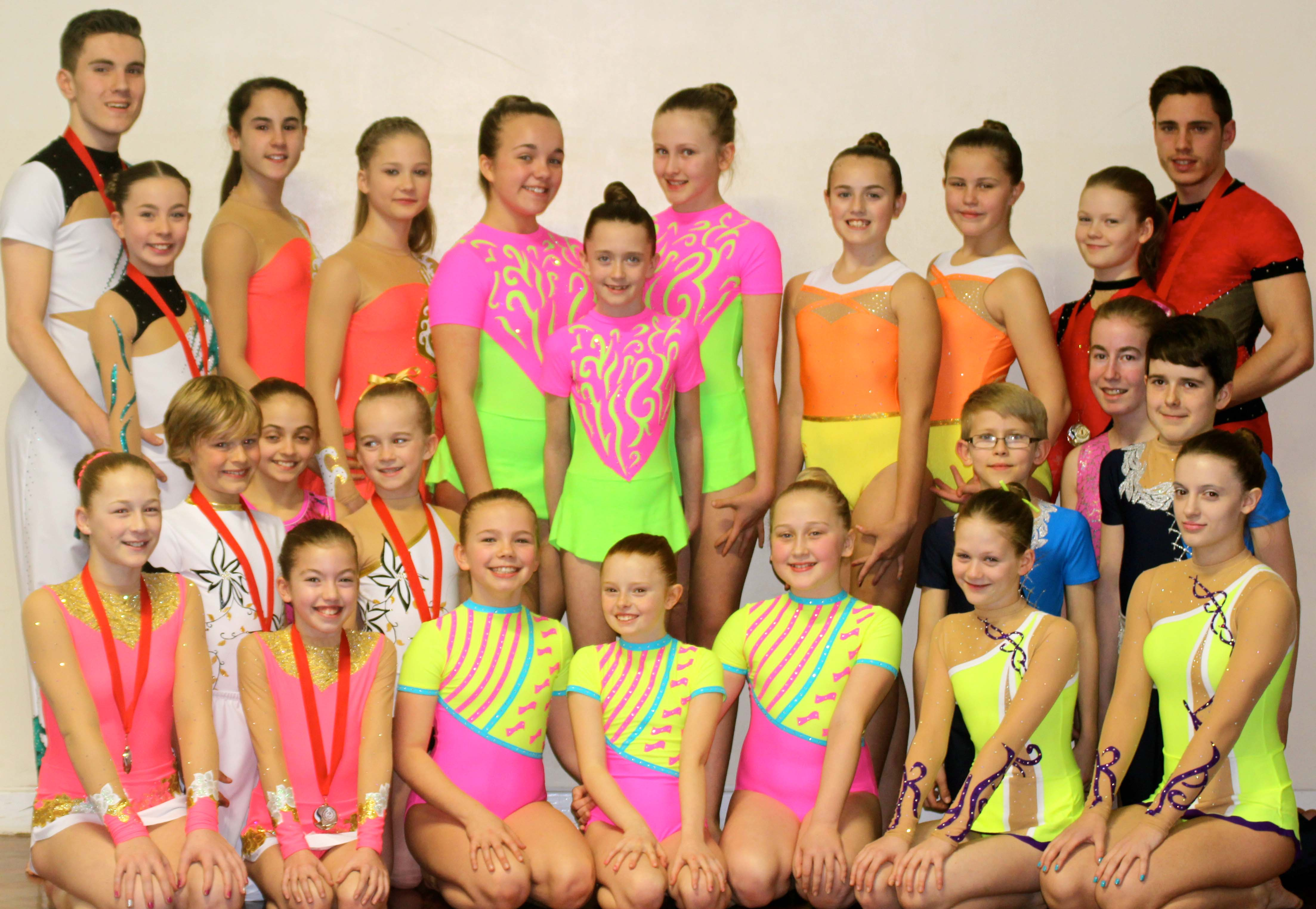 Athena Gymnastics Best Result from NDP Championships