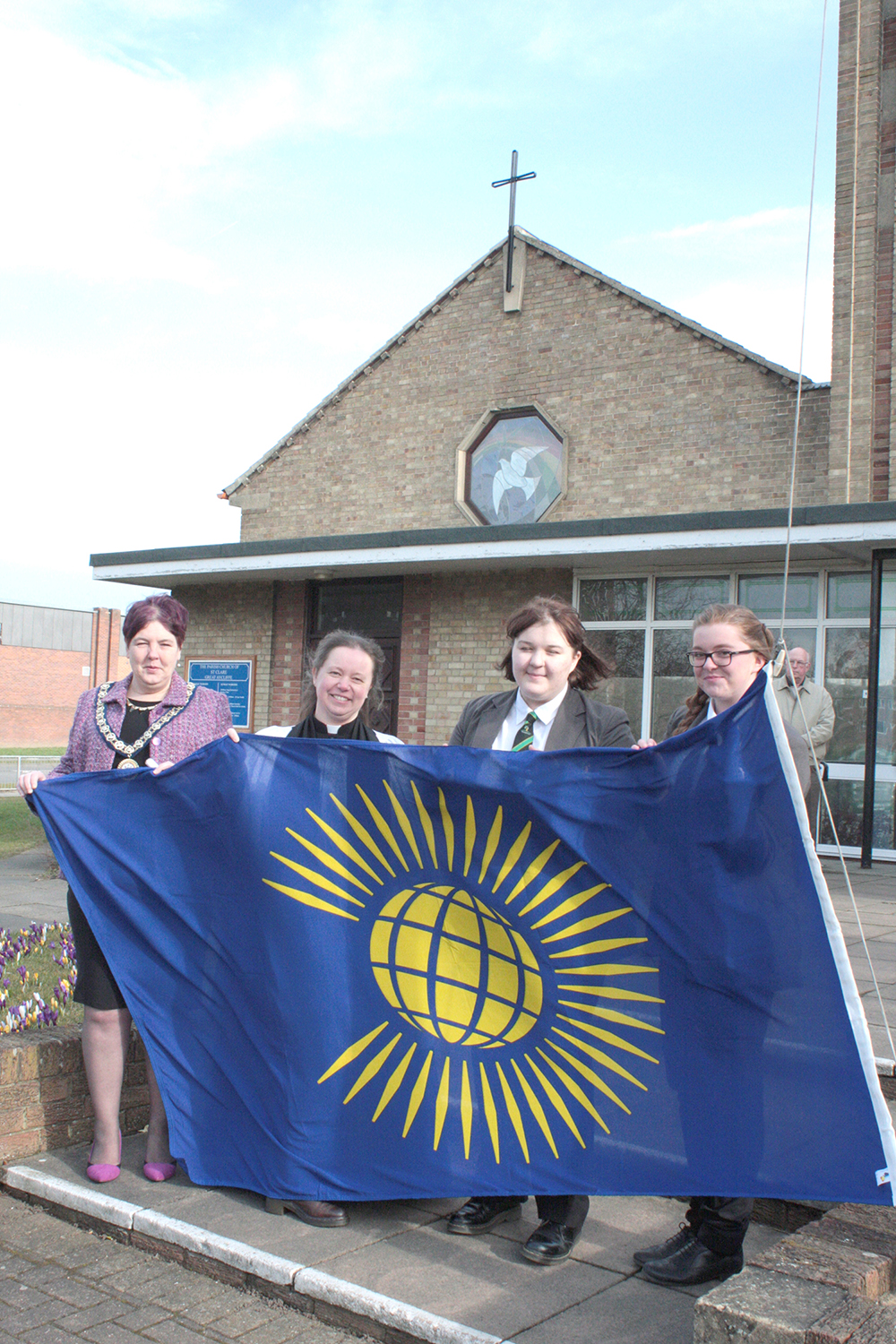 Raising the Flag for Commonwealth Day
