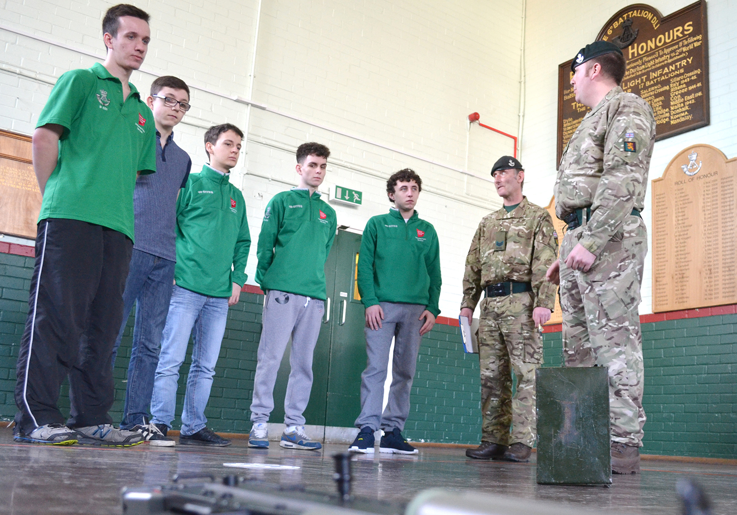 College Students Get a Taste of Army Life