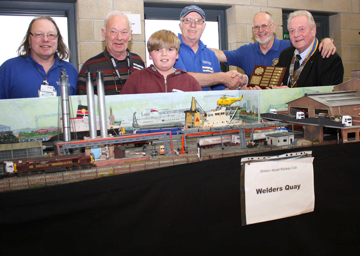 Record Crowd at Rotary Model Railway Exhibition