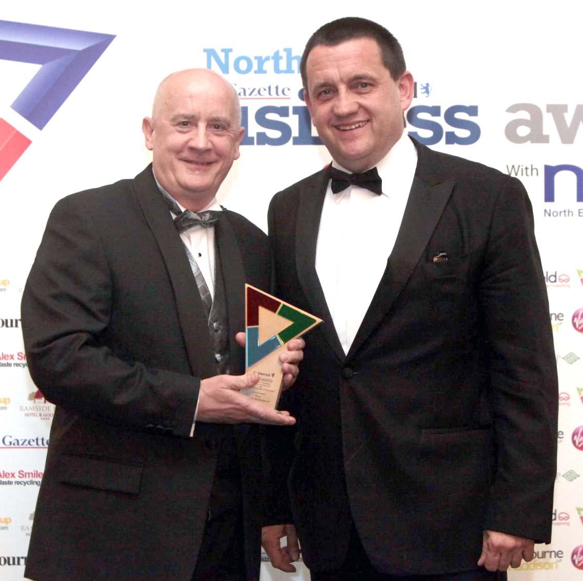 Aycliffe's Samwon Win Top service Award