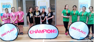 Greenfield in Table Tennis Finals