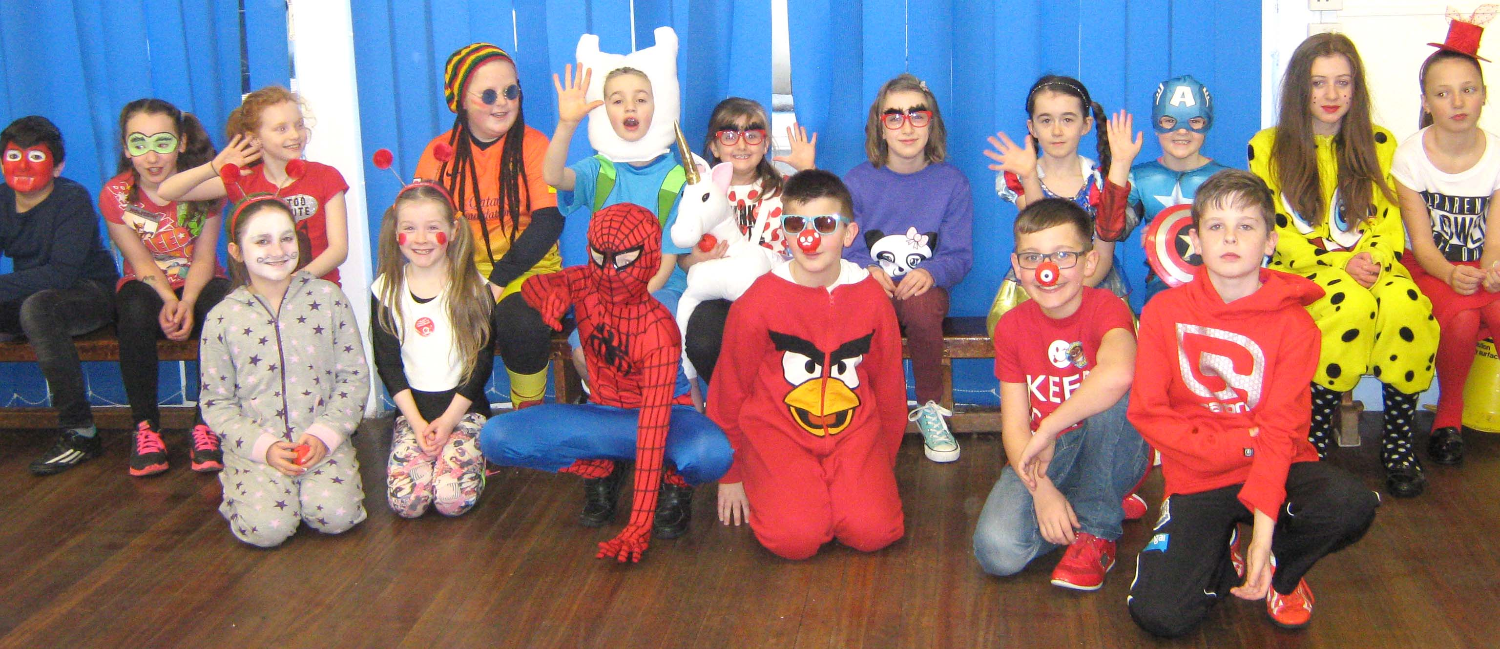 Vane Road Comic Relief Day