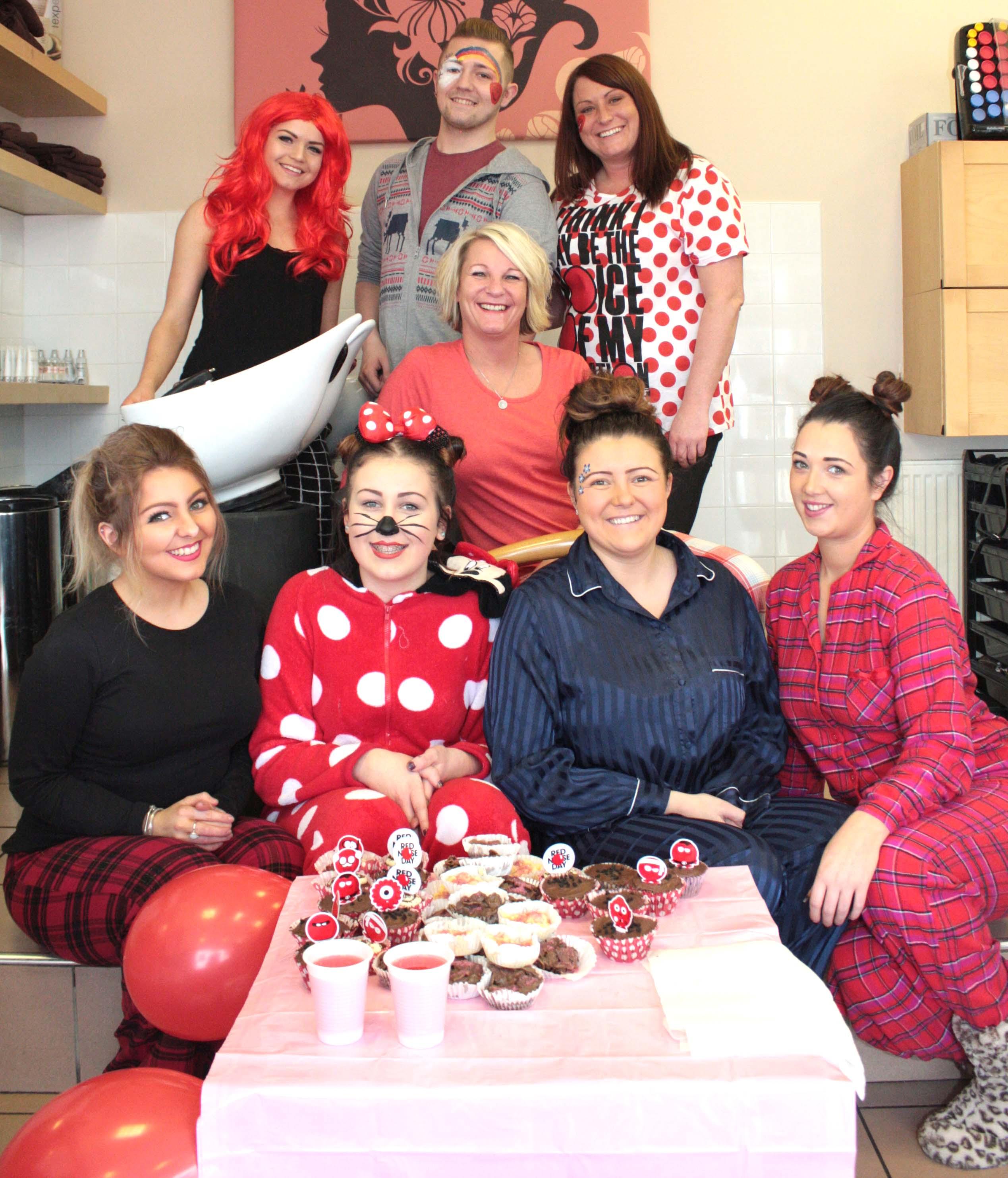 Pyjama Red Nose Day