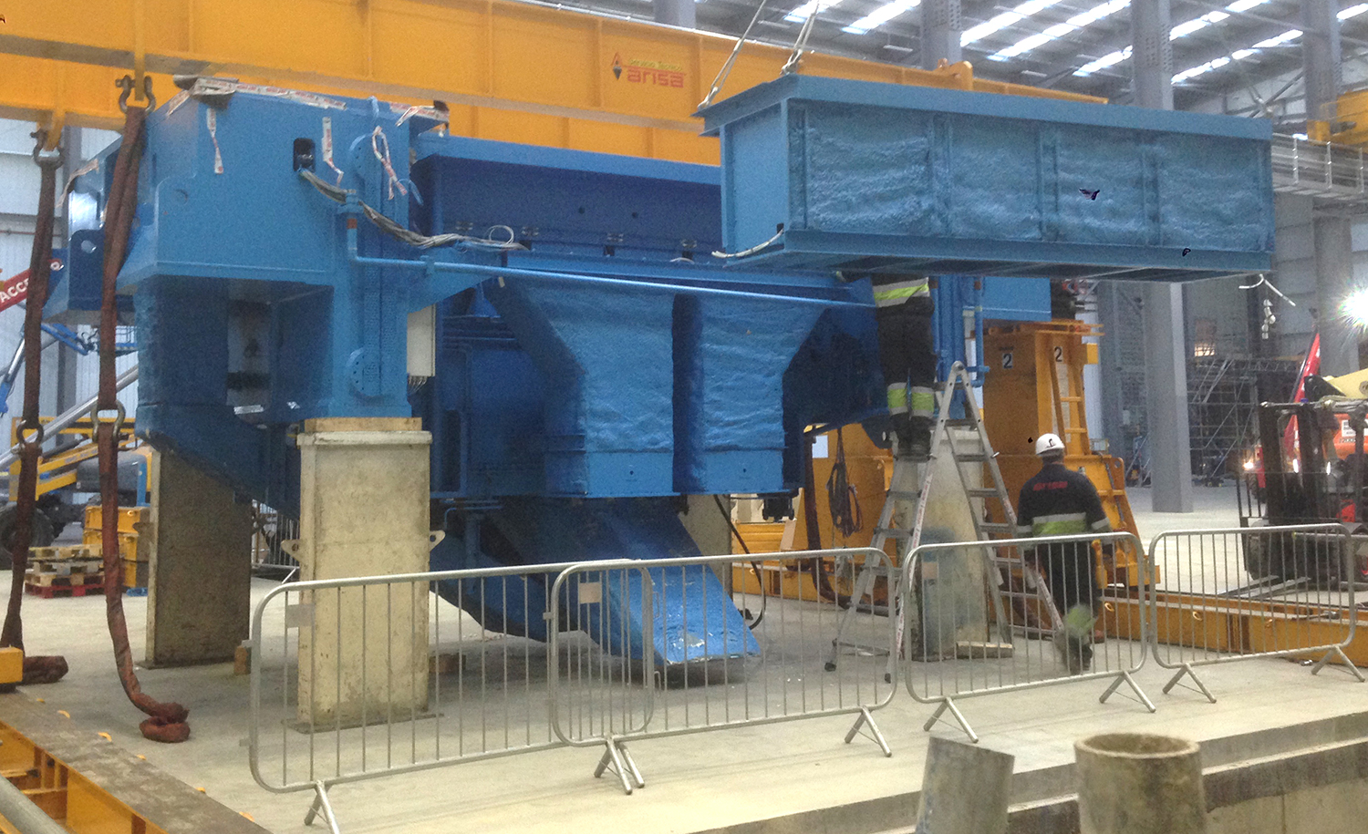 Gestamp Tallent's Two New Presses Ready for Production This Month