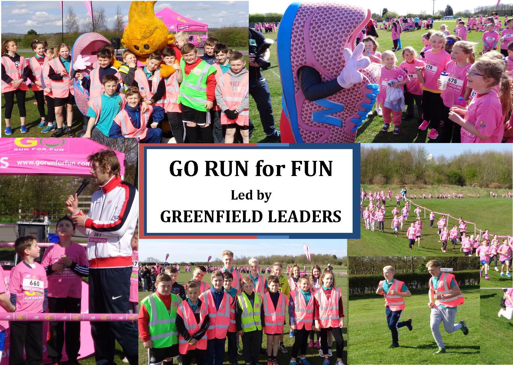 Greenfield Volunteers Sport Leaders at Aycliffe Fun Run