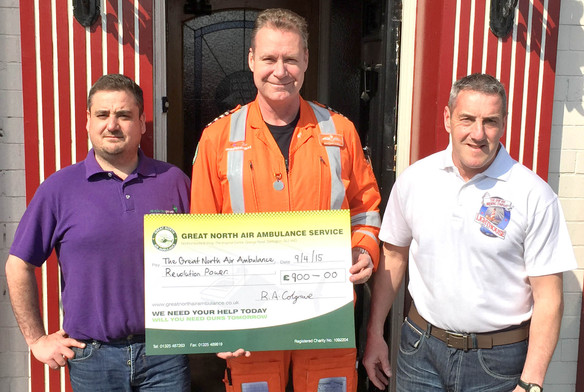 Aycliffe Company Replaces Stolen Money