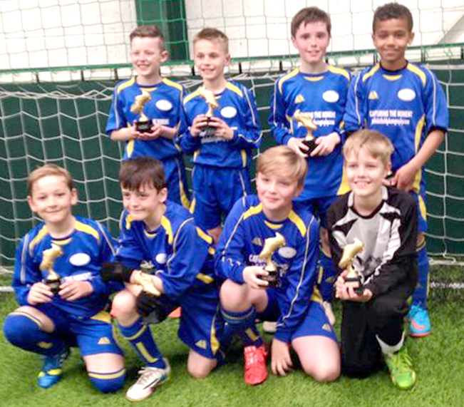 Easter Tournament Success for Town's Youth Football