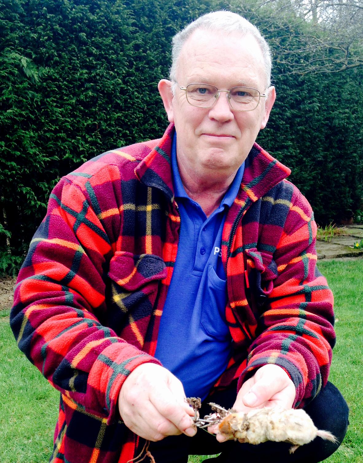 Rare Albino Mole Caught at Woodham