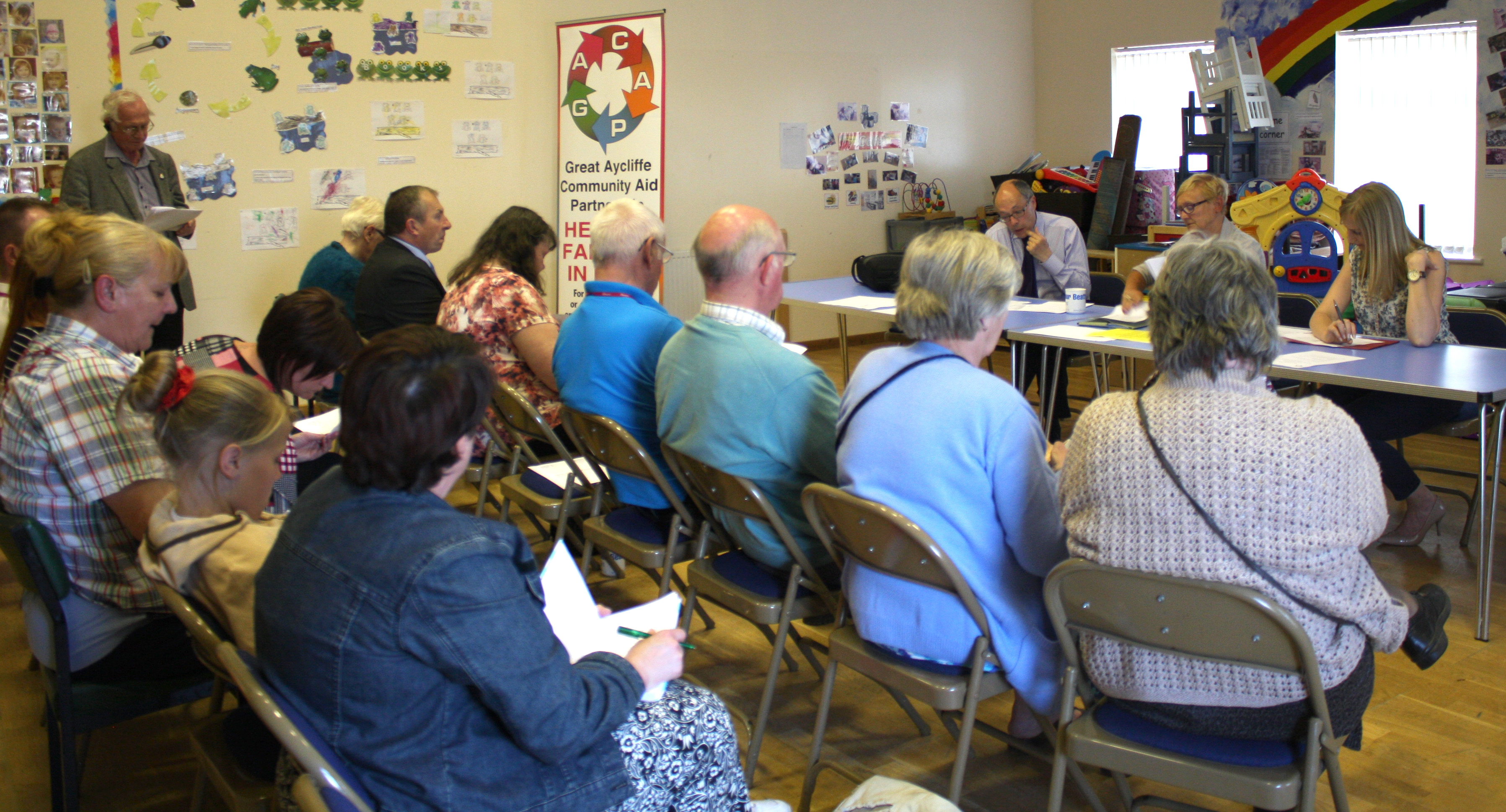 First AGM of Town's Welfare Partnership