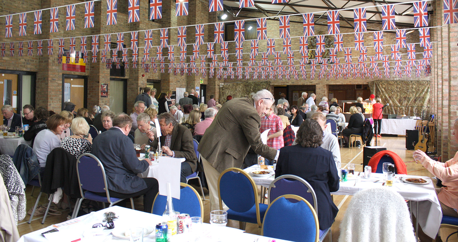 Rotary Club Geordie Lunch at the T.A. Centre