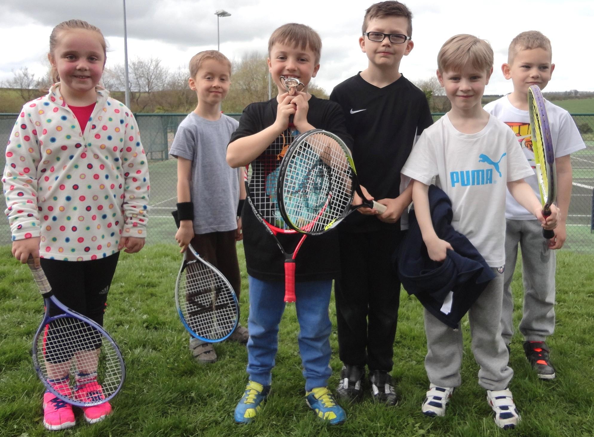 Greenfield Tennis Club Junior Champions
