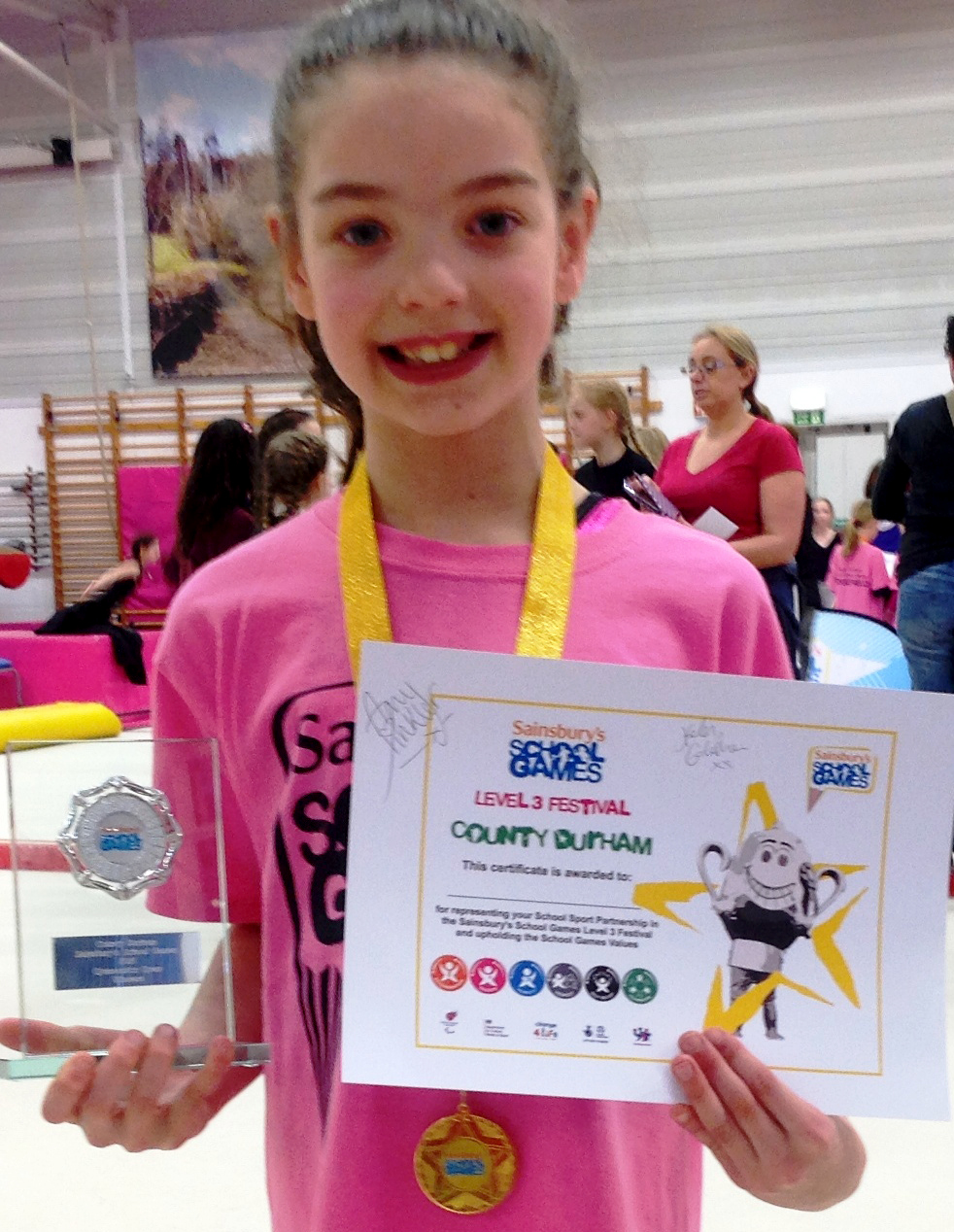 Gold Medallist Ruby