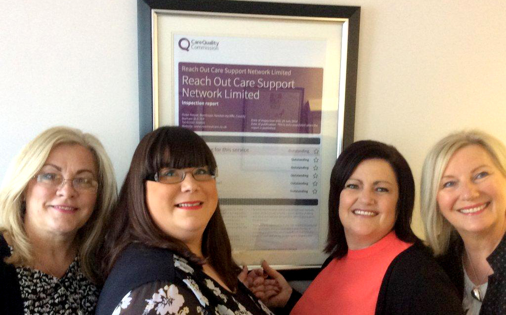 Outstanding Award for Aycliffe Organisation