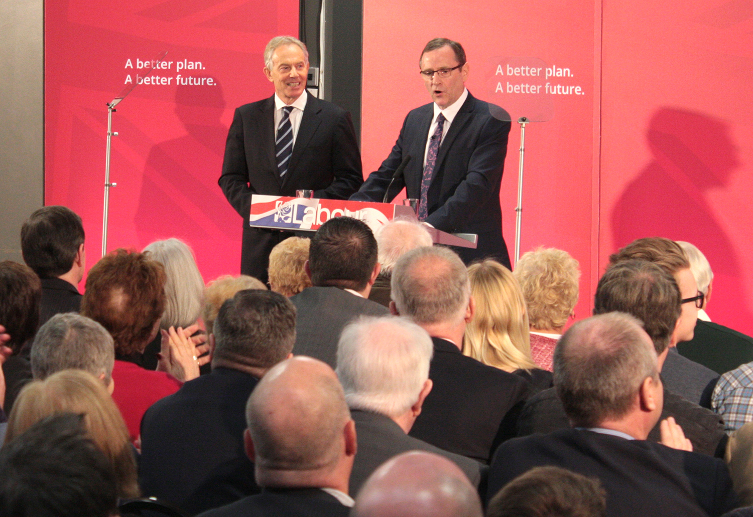 Tony Blair 100% Behind Labour Party Leader