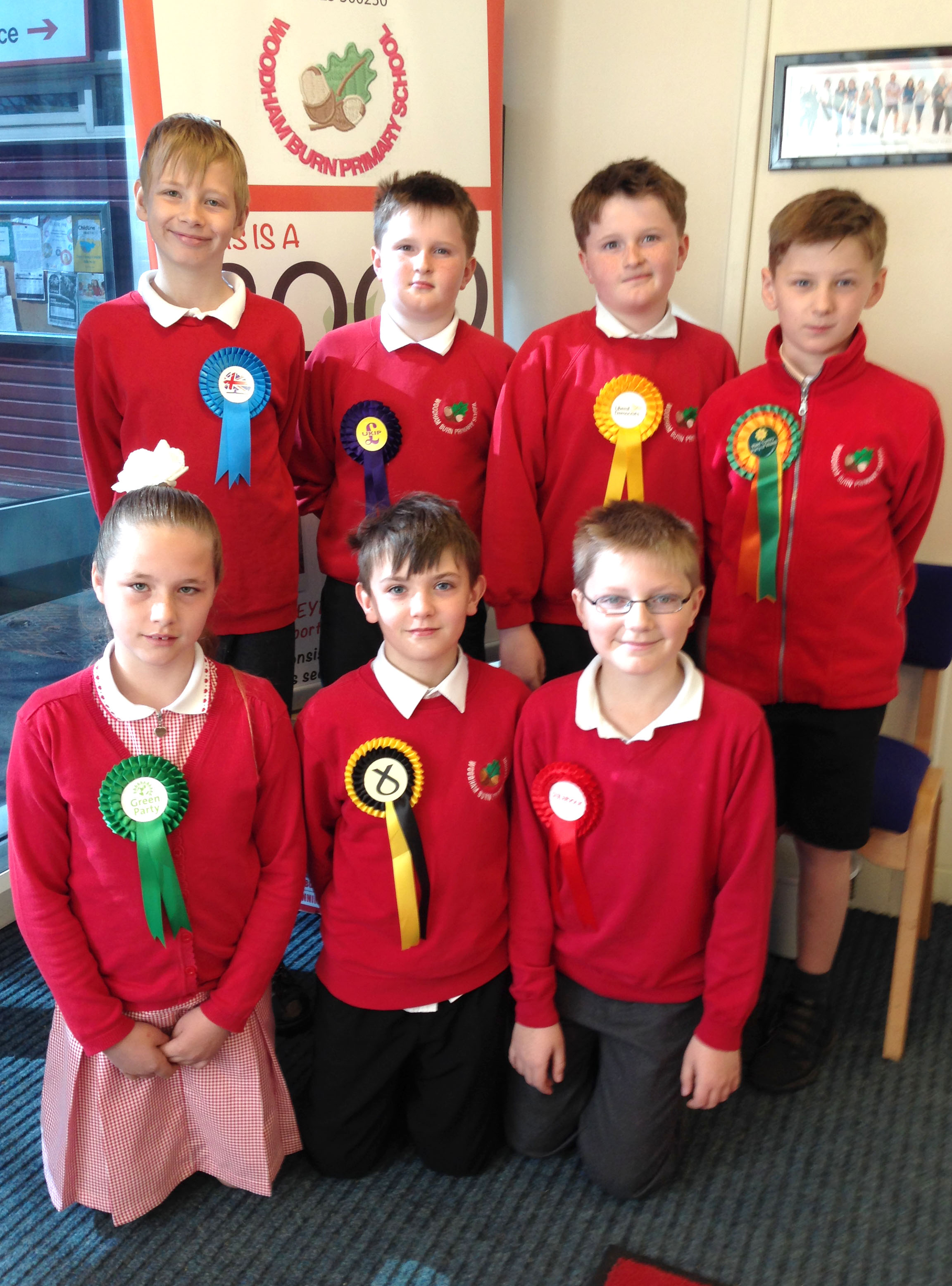 Mock Election at Woodham Burn School