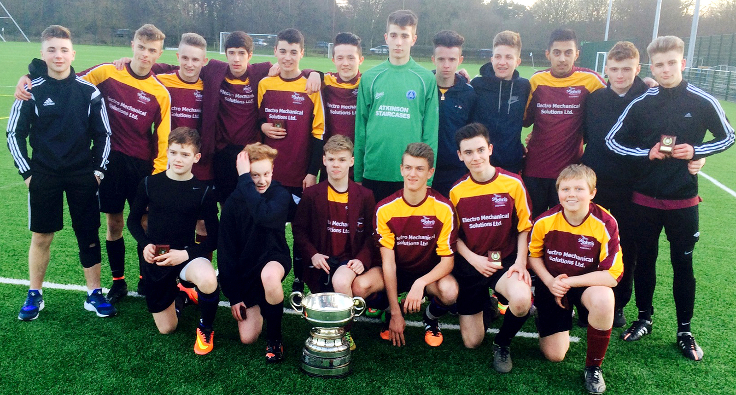 Two Cup Trophies for St. John's School