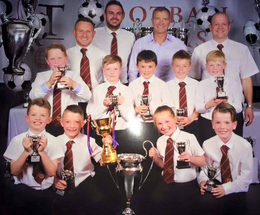 Aycliffe Under 9's Win Junior Championship