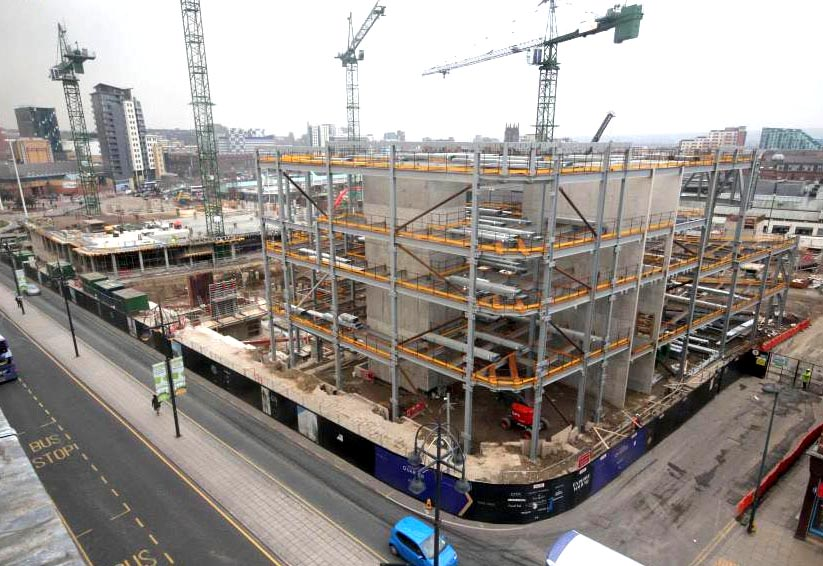 Aycliffe Firm Wins Leeds Shopping Centre Contract