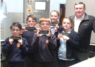 Aycliffe Students Visit Engineering Company