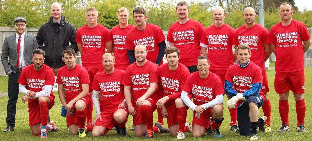 Fundraising Target Near After Charity Football Match