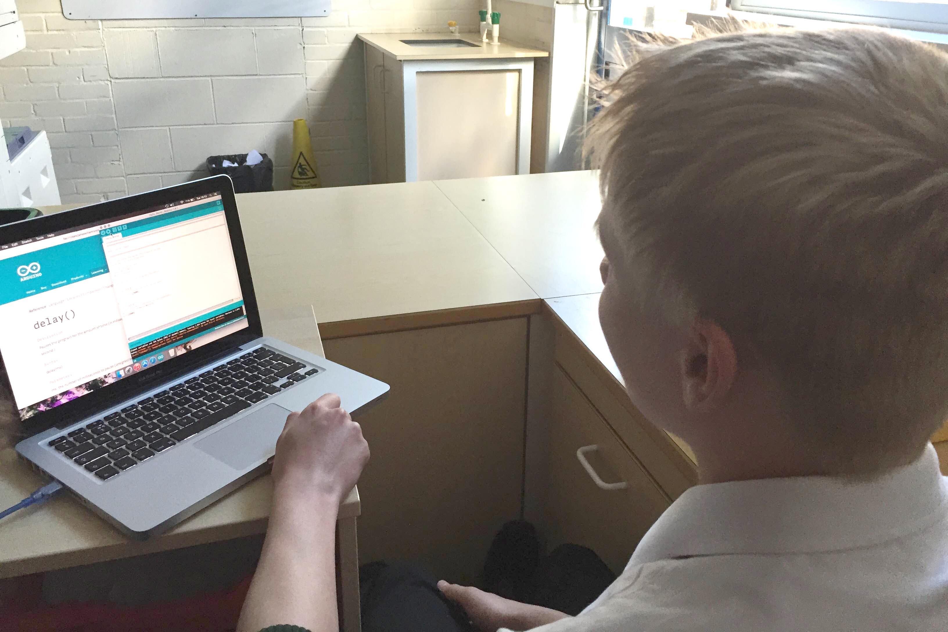 Greenfield STEM Club Gets Coding!