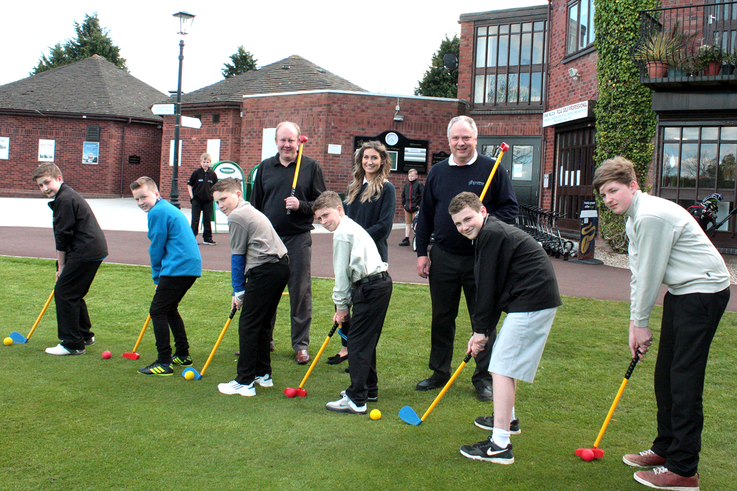 Free Golf at Woodham for Aycliffe Juniors