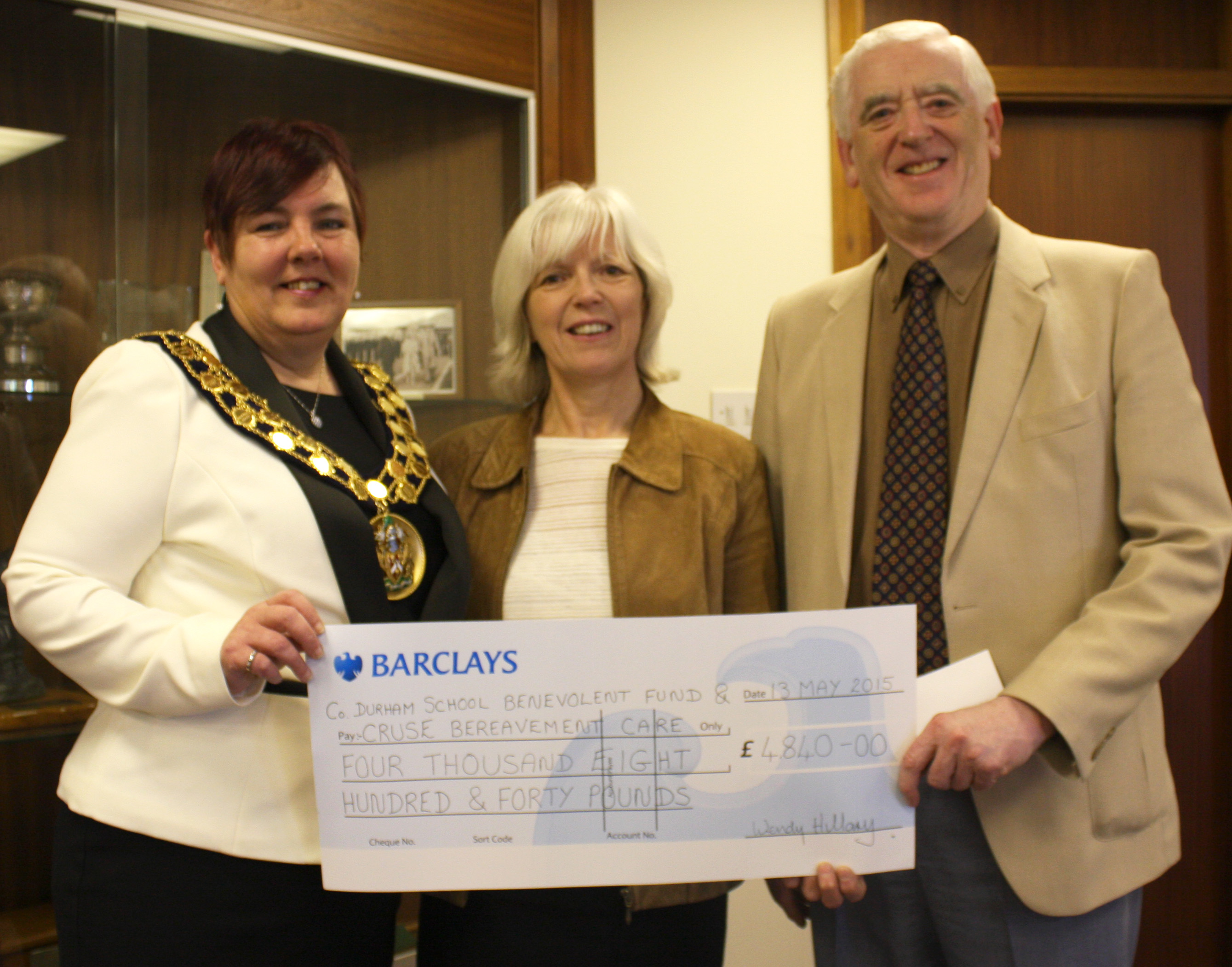 Past Mayor's Charity Events Raised £4,840