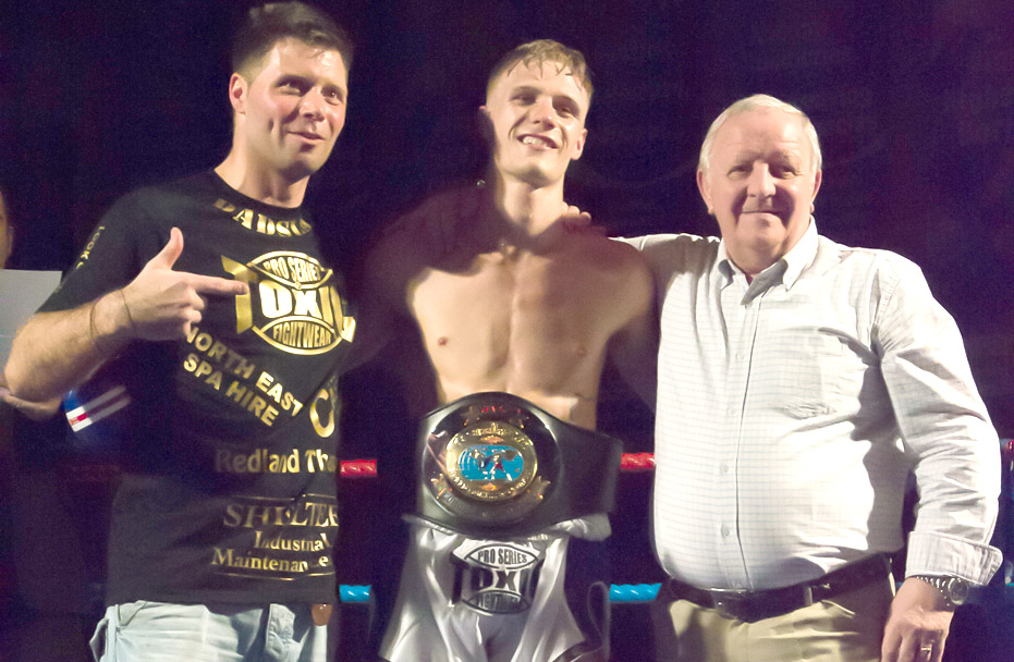 European Title for Aycliffe Fighter