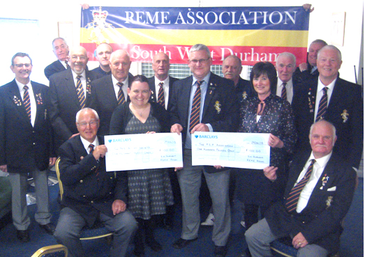 REME Association Help Two Northern Charities