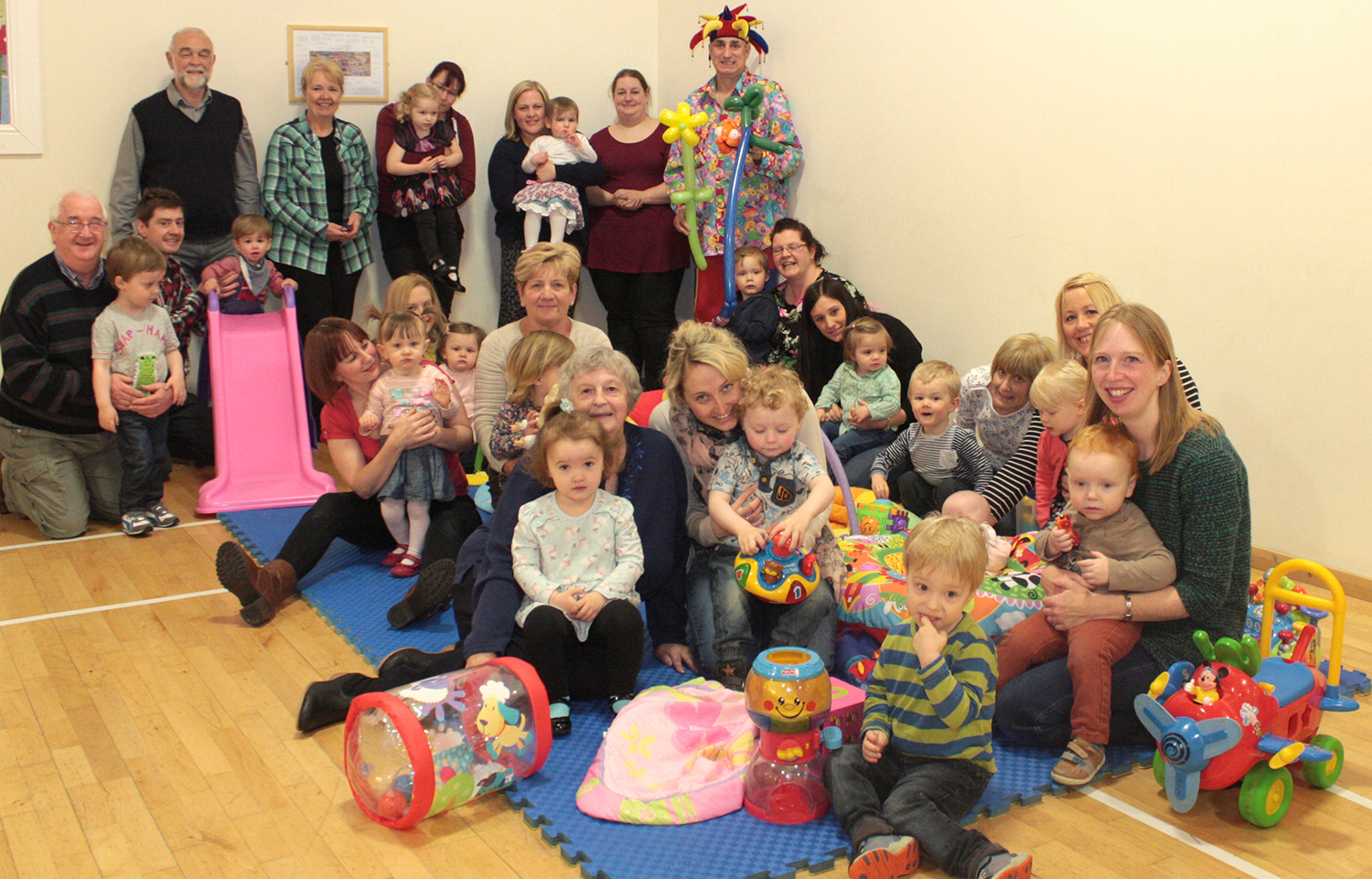 Toddler Group's 1st Birthday