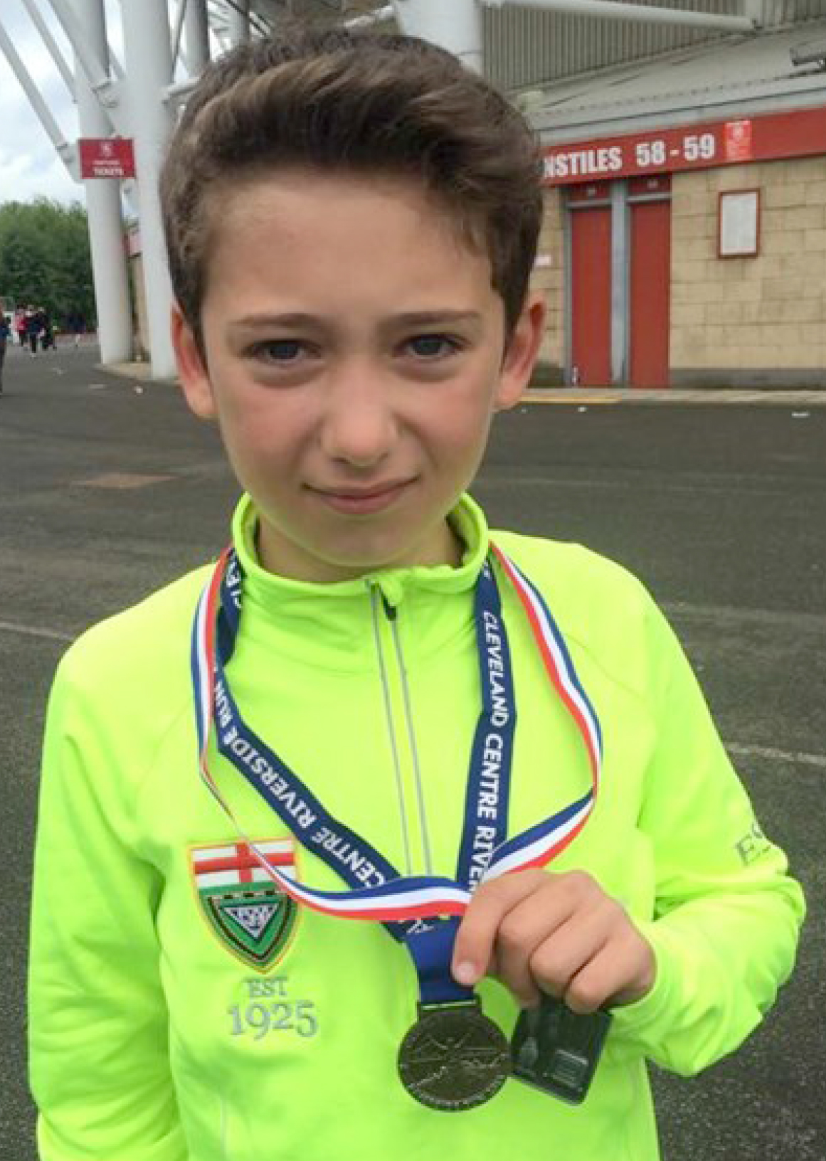 Twelve Year Old Runs For Charity