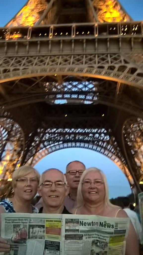 Newton News at Eiffel Tower 2