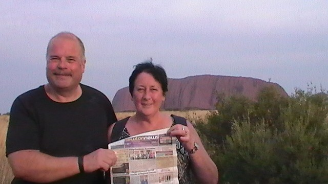 Paul Lynne Arnold Ayres Rock Oz