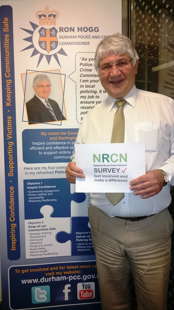 Ron Hogg Calls On Communities to Respond to the Rural Crime Survey