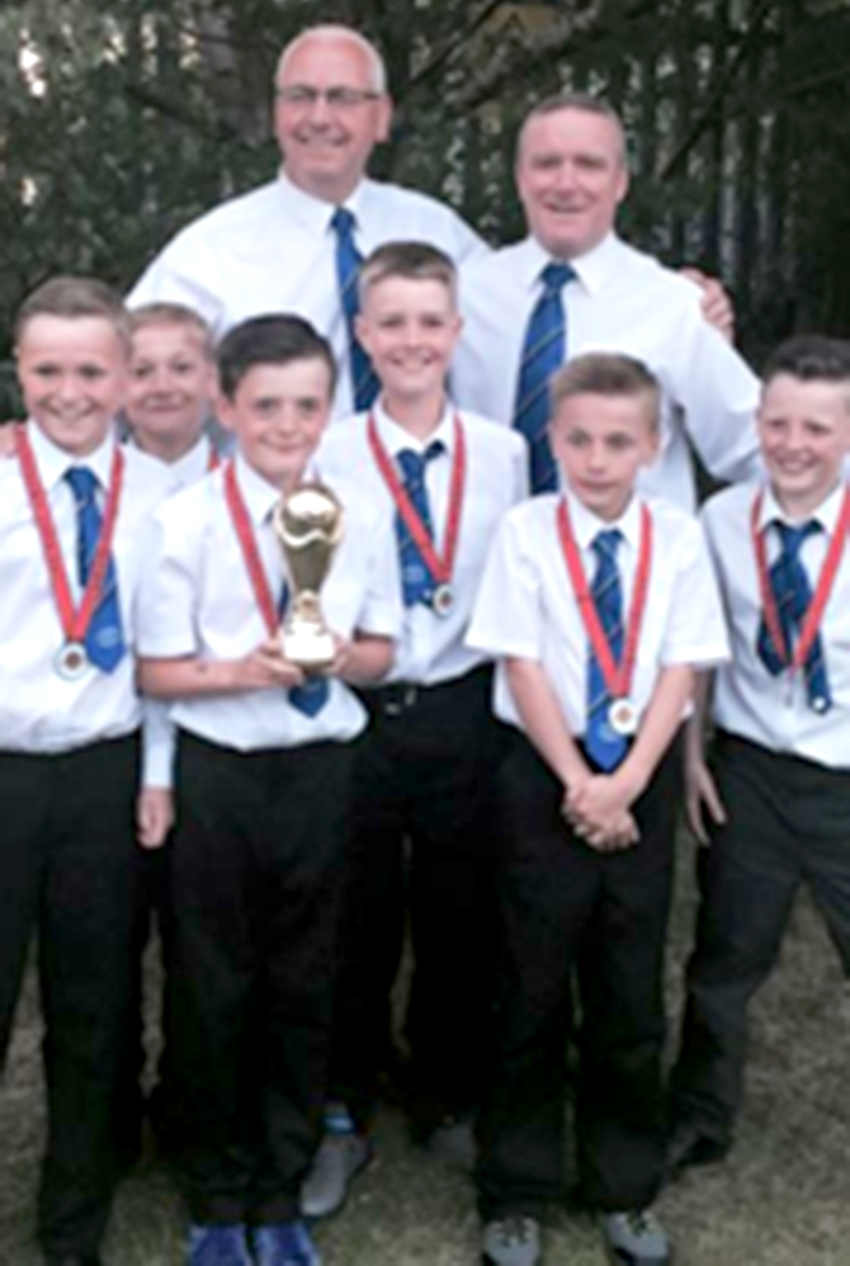 Under 10's are Divison 1 Winners