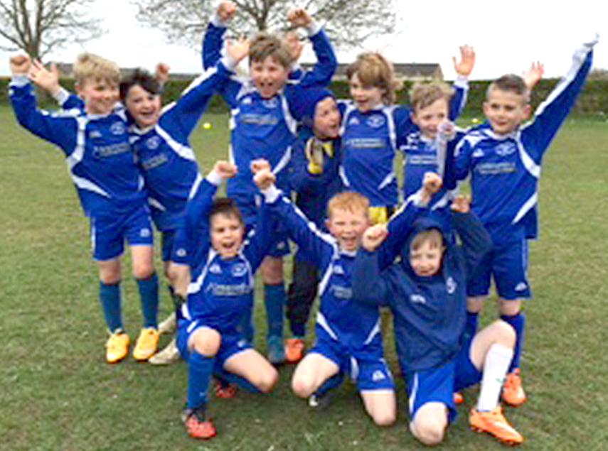 "Aycliffe Under 8's Team Win ""Fair Play Award"""