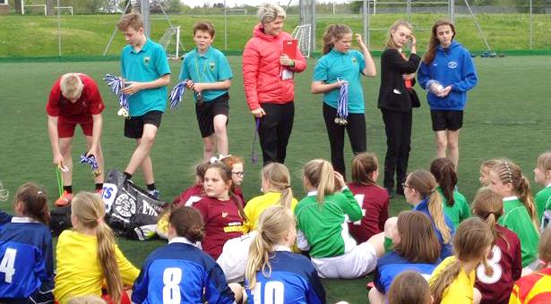 Greenfield Help Develop Primary School Football