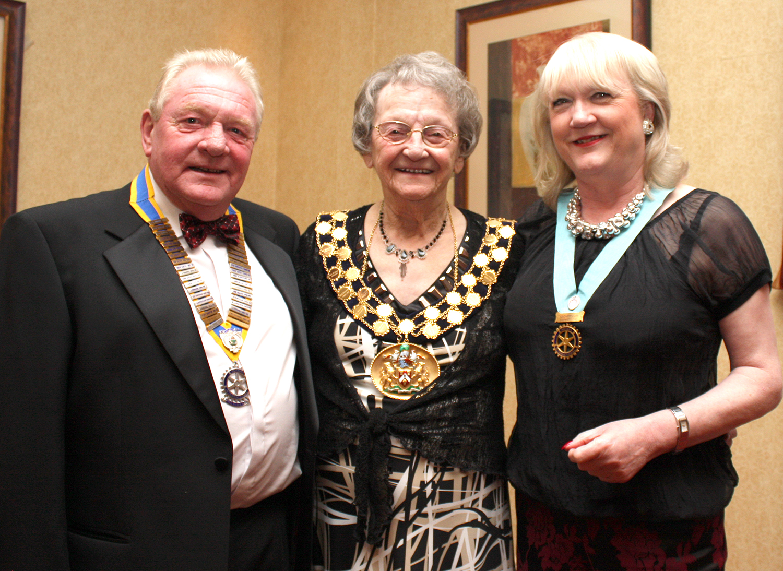 Mayor at Rotary Club's Annual Dinner