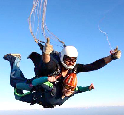 16th Birthday Skydive for Charity