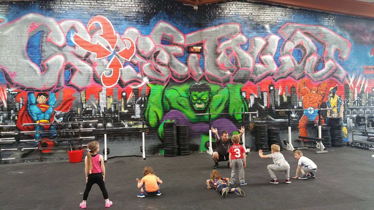 CrossFit Brings Fitness for the Future