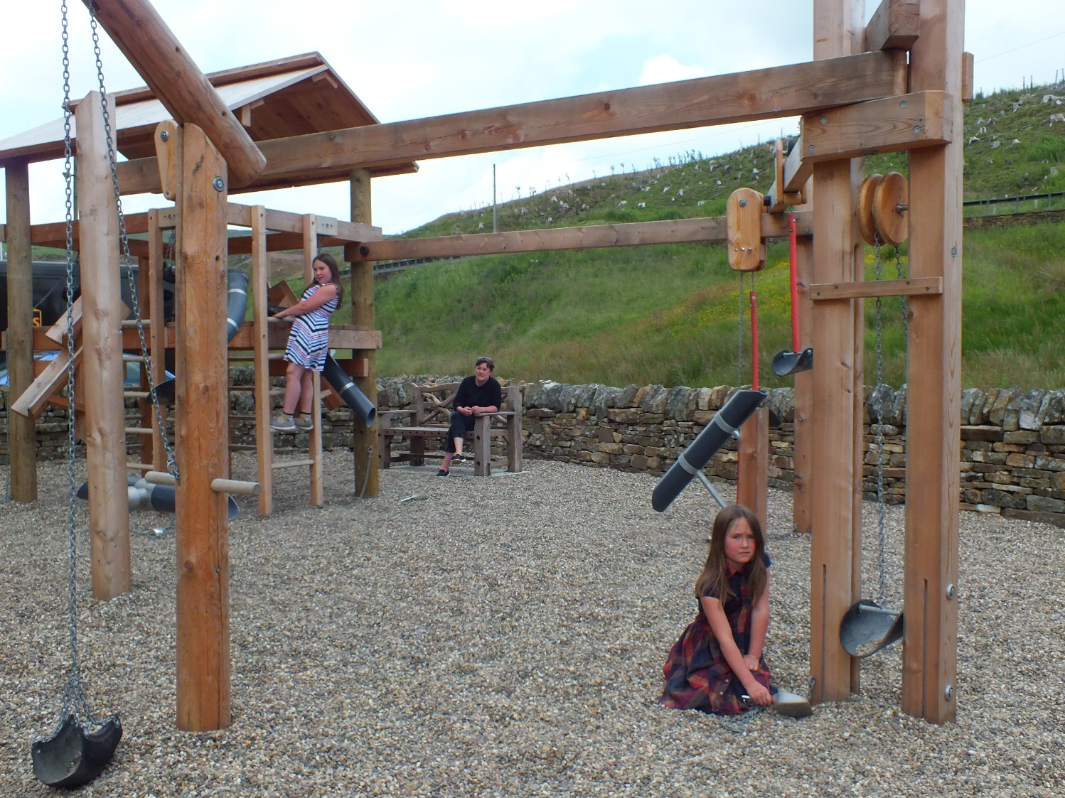 Playtime at Museum as New Play Park is Unveiled