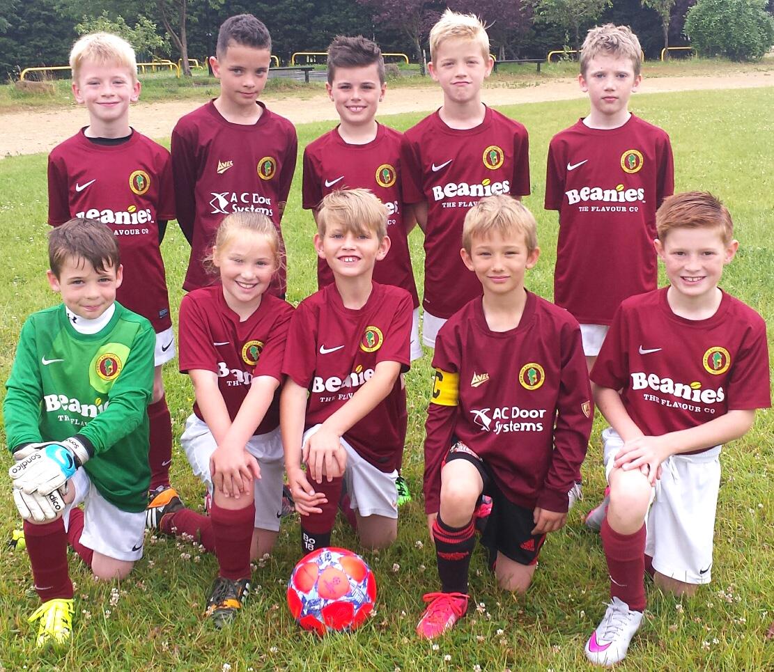 Aycliffe Junior Football Report