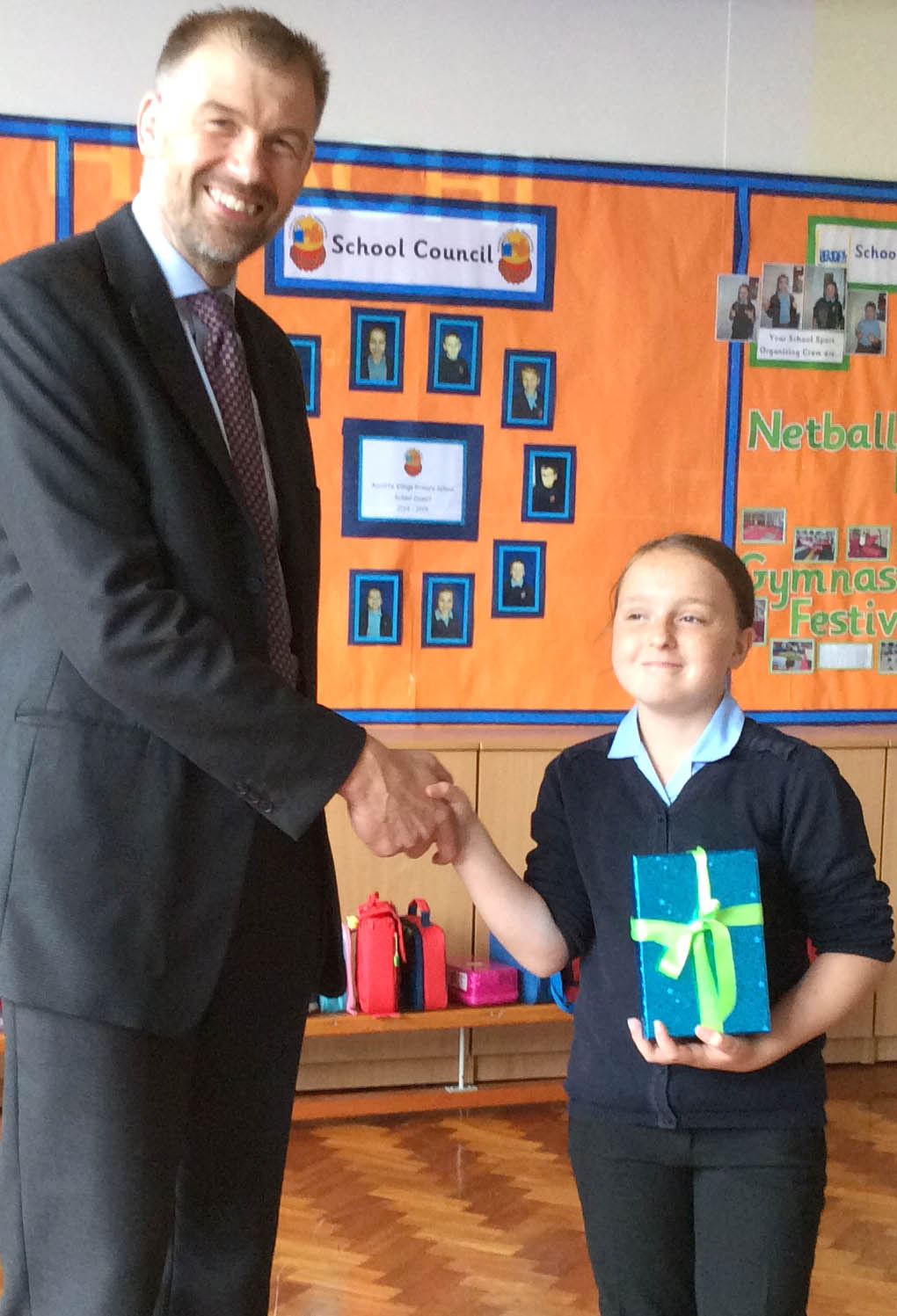 Aycliffe Village Student Wins STEM Competition