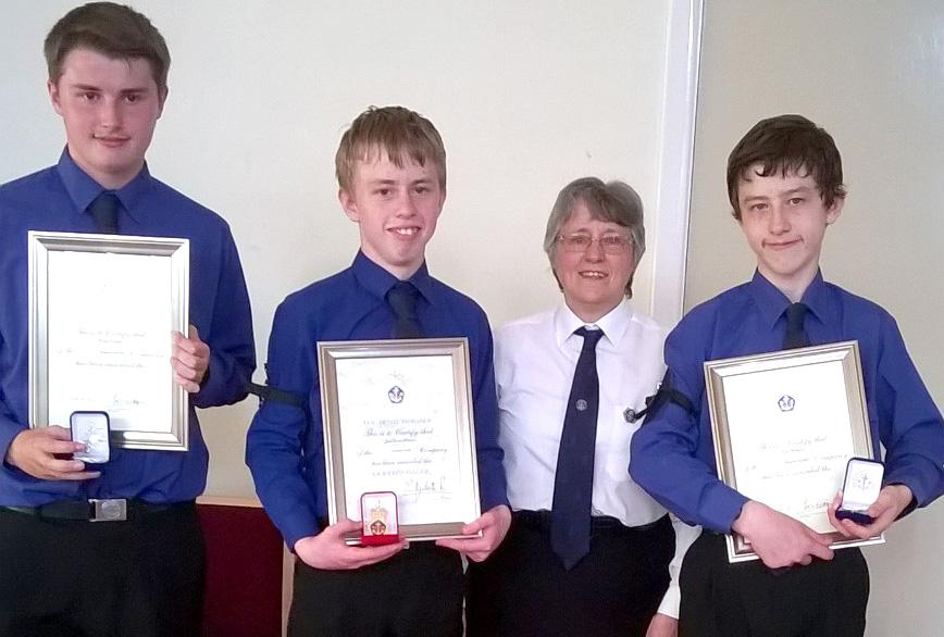 Boys Brigade Awards