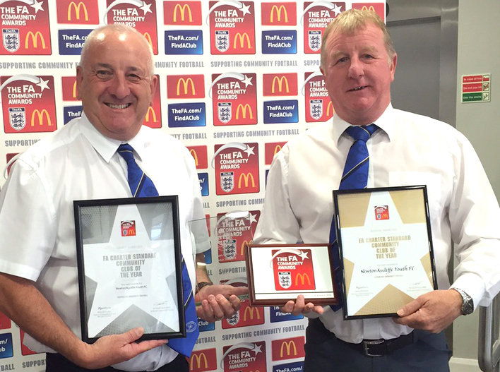 Double Delight for Youth Football Club