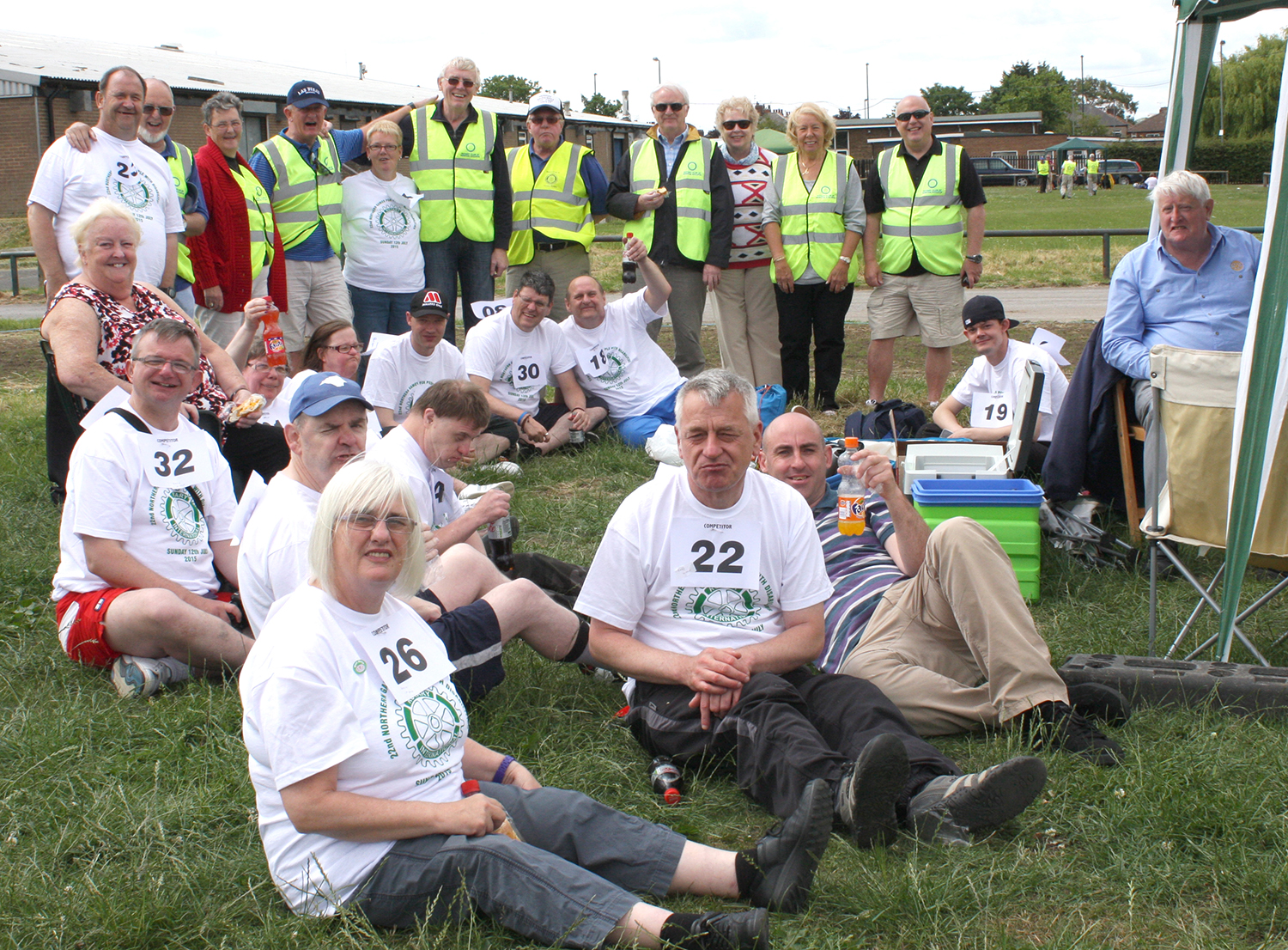 Aycliffe Team Excel at Rotary Games for Disabled