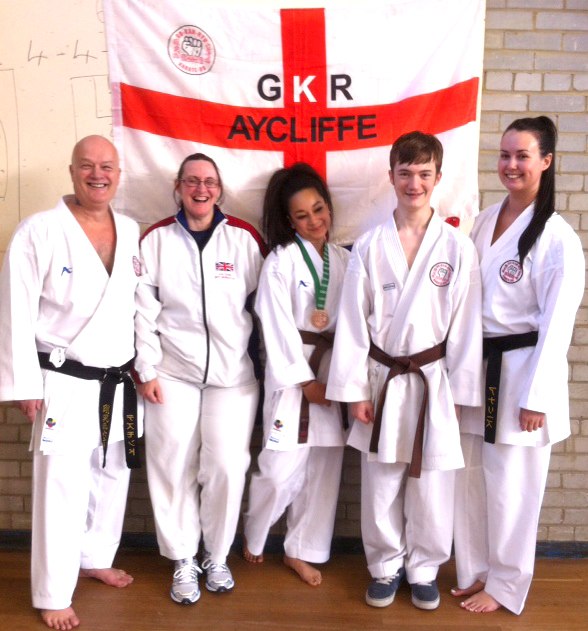 Aycliffe Karate Club in World Cup