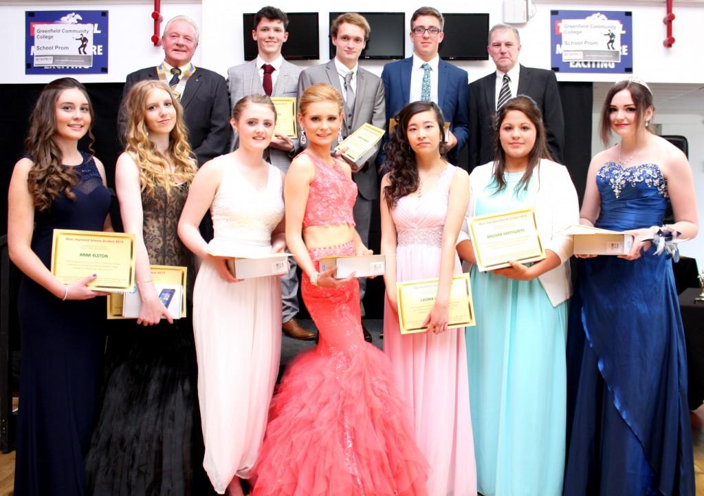 greenfield prom winners