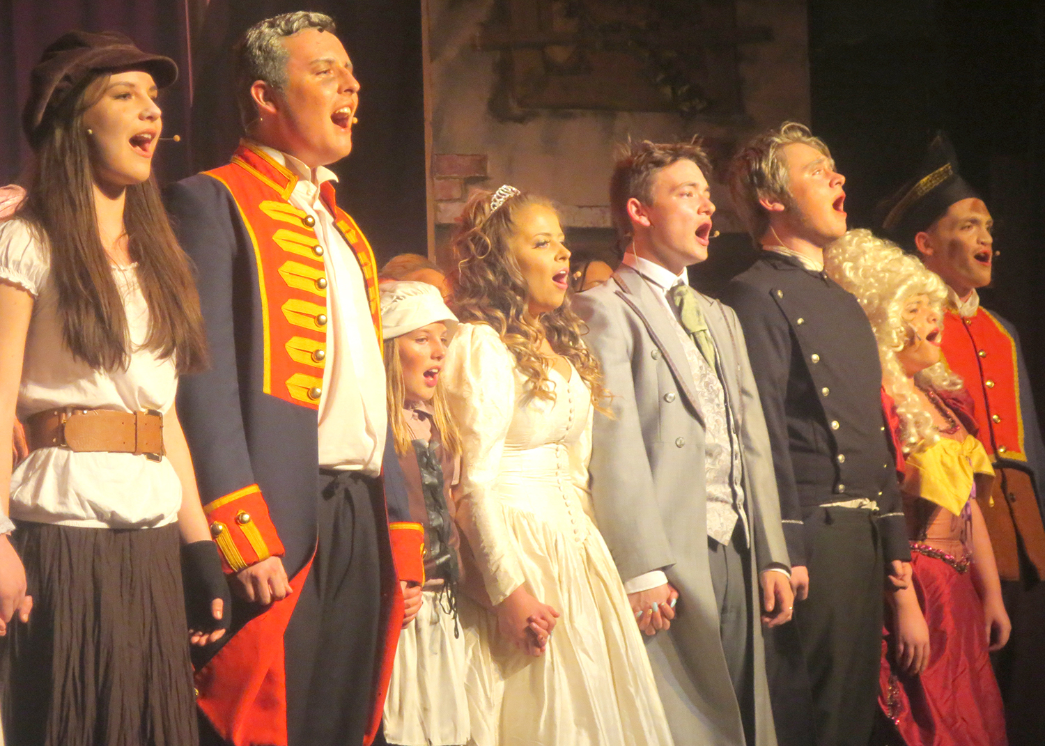 "Greenfield Sunnydale Campus ""Les Mis"" Hit Show"